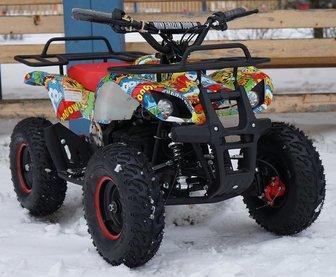 Детский электро квадроцикл MOTAX ATV Х-16 BIGWHEEL (БОЛЬШИЕ КОЛЕСА)
