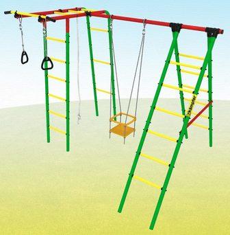 Kampfer Happy Child. Спортивно-игровой детский комплекс для дачи.