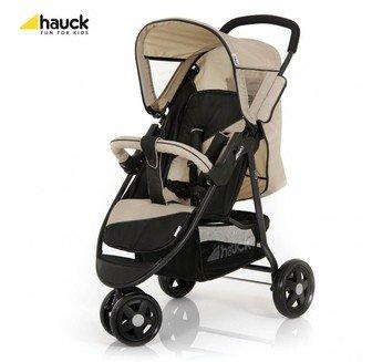 Прогулочная трехколесная коляска Hauck City