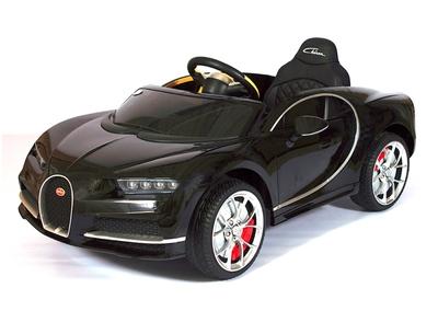 Bugatti Chiron HL318. Детский автомобиль на резиновых колесах.