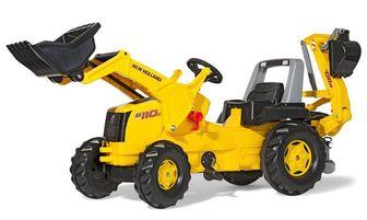 Rolly Toys Junior New Holland Construction 813117. Педальный трактор.