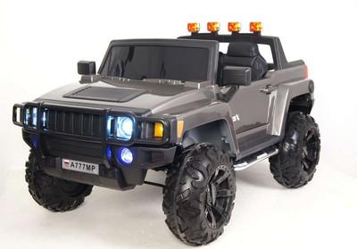 Детский электромобиль HUMMER A777MP на резиновых колесах