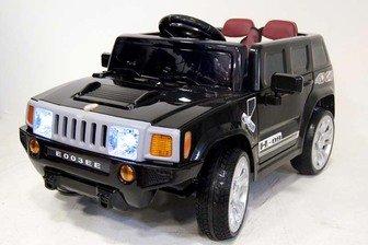 Электромобиль HUMMER E003EE на резиновых колесах