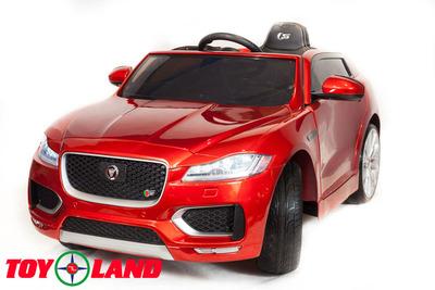 Jaguar F-PACE. Детский автомобиль на резиновых колесах.