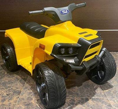 Детский квадроцикл JC912 на резиновых колесах.