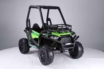 JC360. Детский двухместный автомобиль на резиновых колесах.