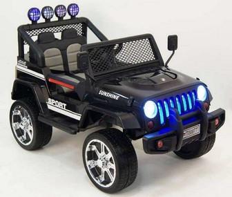 Jeep T008TT Детский электромобиль  2-мя двигателями