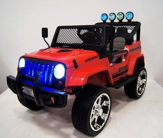 Детский внедорожник Jeep T008TT с 2-мя двигателями