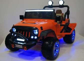 Детский электромобиль Jeep A004AA с дистанционным управлением