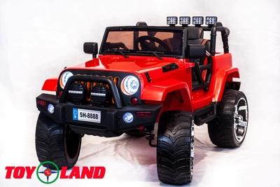 Jeep SH 888 4Х4. Детский полноприводный автомобиль на резиновых колесах.