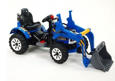 Jiajia JS328A. Детский электромобиль-трактор с ковшом.