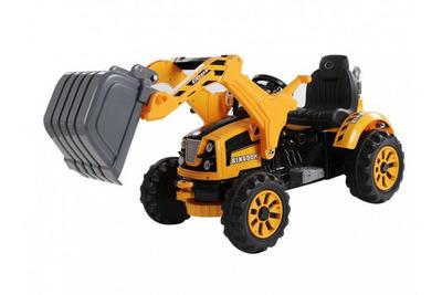 Jiajia JS328B. Детский электромобиль-трактор с ковшом.
