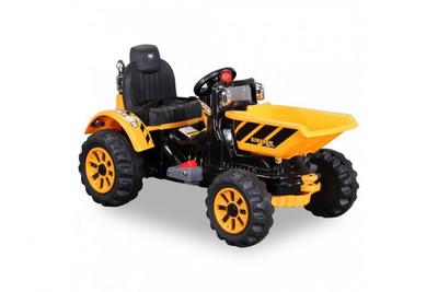 Jiajia JS328C. Детский электромобиль-трактор с ковшом.