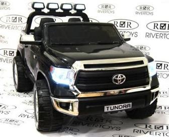 Детский электромобиль TOYOTA-TUNDRA-JJ2255 на резиновых колесах