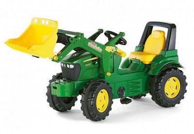 Rolly Toys rollyFarmtrac John Deere 7930 (710027). Педальный детский трактор.