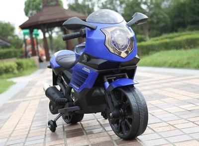 RiverToys K333KK. Детский мотоцикл на резиновых колесах.