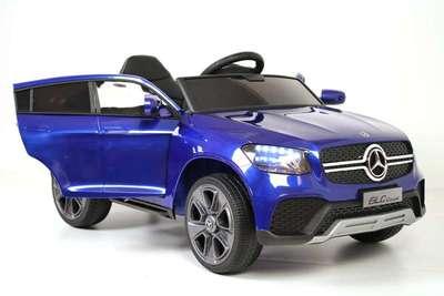 Mercedes-Benz Concept GLC Coupe K555KK. Детский автомобиль на резиновых колесах.