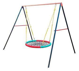 """Дачные качели-гнездо """"Вертикаль"""" """"Swing-nest""""."""