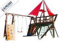 Детская деревянная игровая площадка-корабль Самсон «Каравелла».