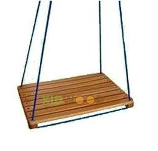 Качели деревянные дачные Kidwood.