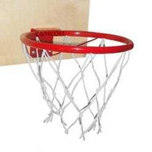 Кольцо баскетбольное со щитом.