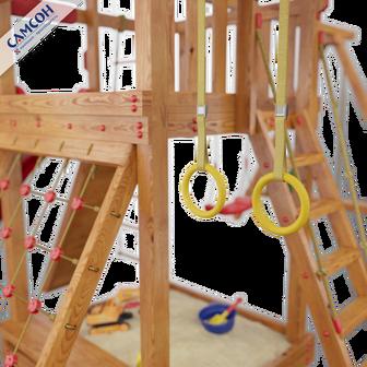 Кольца гимнастические Самсон