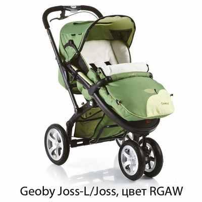 Прогулочная трехколесная коляска Geoby Joss