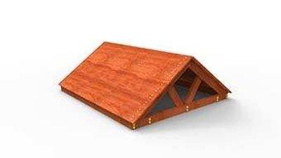 Крыша деревянная Самсон для ДИП .