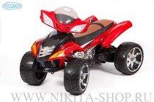 Детский квадроцикл BARTY Quad Pro с пультом управления, на резиновых колесах