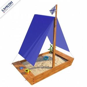 """Детская деревянная песочница """"Ладья"""" Самсон"""