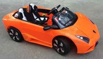 Детский электромобиль Lambo LS-518.Резиновые колеса