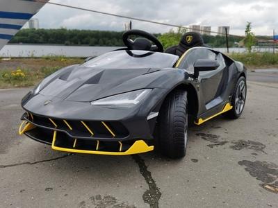 Lamborghini Centenario. Детский автомобиль на резиновых колесах.
