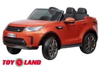Land Rover DISCOVERY. Двухместный электромобиль на резиновых колесах.