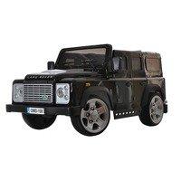 Детский электромобиль-джип Land Rover Defender (лицензионная модель) на резиновых колесах.