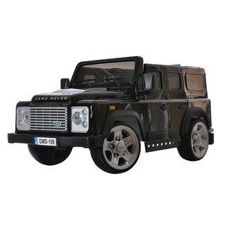 Детский электромобиль Land Rover Defender (лицензионная модель) на резиновых колесах.