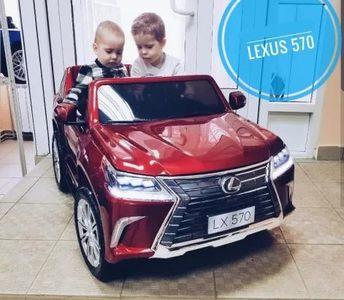 Lexus LX570,4х4. Двухместный детский электромобиль.