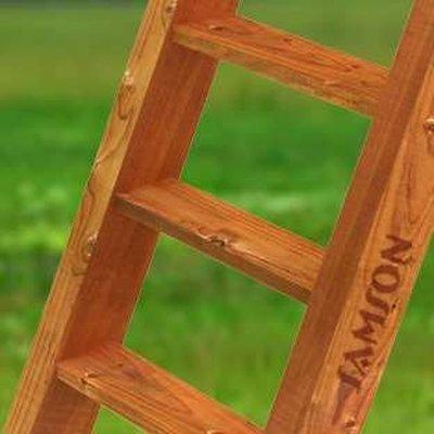 Лестница деревянная Самсон.