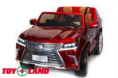 Toyland Lexus LX570, 4х4. Двухместный детский электромобиль-джип.