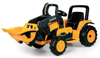 Peg-Perego John Deere Construction Loader. Детский экскаватор.