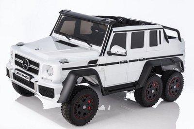 Mercedes-Benz G63-AMG 4WD X555XX. Двухместный детский электромобиль (ЛИЦЕНЗИОННАЯ МОДЕЛЬ) с дистанционным управлением