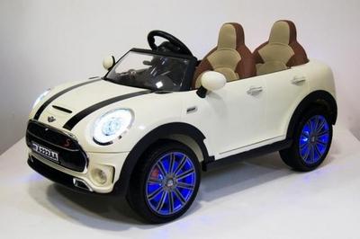 Детский электромобиль MiniCooper A222AA со подсветкой колес