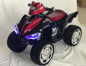 Детский квадроцикл М004МР на резиновых колесах.