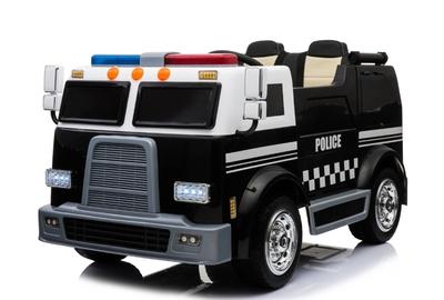 Двухместный полицейский электромобиль BARTY Police М008МР на резиновых колесах.