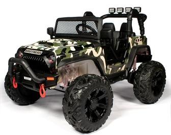 Jeep Wrangler M999MP. Детский автомобиль на резиновых колесах.