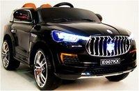 Детский электромобиль Maserati E007KX на резиновых колесах.