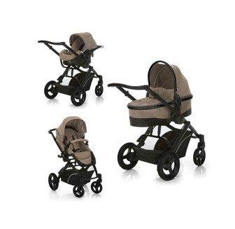 Комбинированная детская коляска 3 в 1 Hauck Maxan 4 Trioset