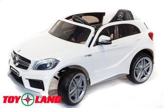 Детский электромобиль Mercedes-Benz A45 на резиновых колесах