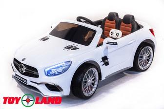 Детский электромобиль Mercedes-Benz SL65 на резиновых колесах