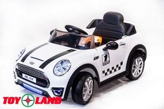 Детский электромобиль Mini Cooper HL198 на резиновых колесах