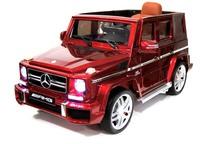 Детский электромобиль-джип Mercedes-Benz G63 (ЛИЦЕНЗИОННАЯ МОДЕЛЬ) с дистанционным управлением